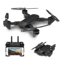 DM DM107 WIFI FPV Dual 2MP Camera Optical Flow Altitude Hold Foldable RC Drone Quadcopter