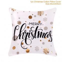 Christmas pillowcase / cushion cover - cotton 45 * 45 cm
