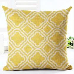 Geometric pillowcase cotton 45 * 45 cm