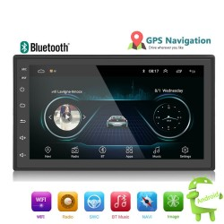 Android 8 Autoradio din 2 - 7 '' Touchscreen GPS Bluetooth FM WIFI