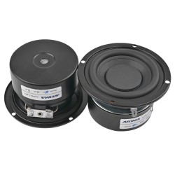 25W subwoofer mini stereo speaker 2 pcs