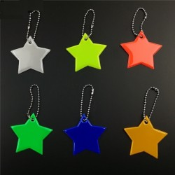 Reflektierende Stern Schlüsselanhänger