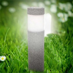 Solar power LED stone - pilar garden light
