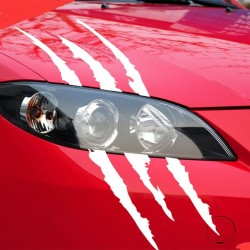 Claw marks - reflective car sticker 40 * 12cm