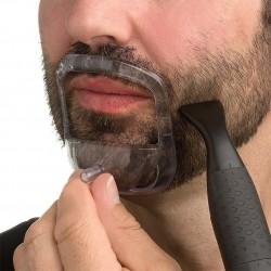 5 sizes beard grooming kit - beard modeling set 5pcs with bag