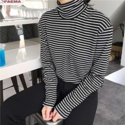 Casual long sleeve jumper - turtleneck