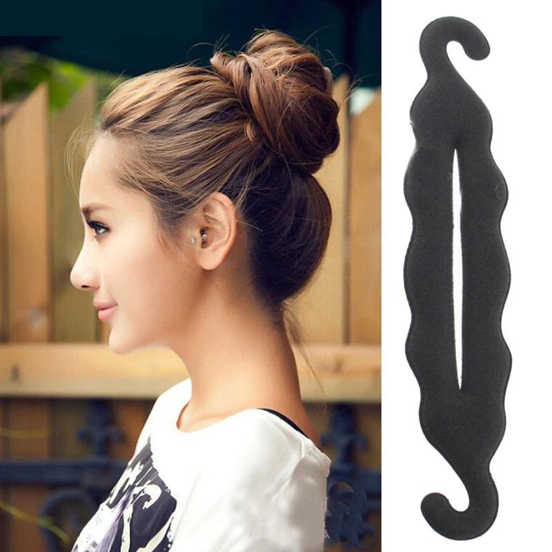 Hair donut maker - hairpin