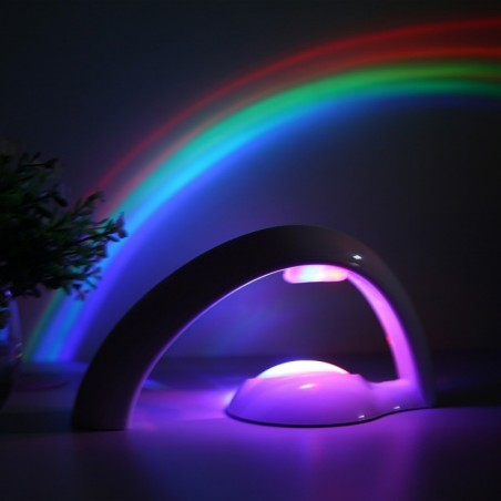 LED colorful rainbow projector - night light
