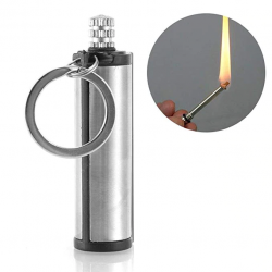Metal lighter - camping emergency fire starter