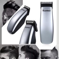 Kemei - electric battery mini hair clipper - beard trimmer