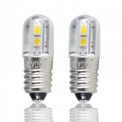 E10 - DC 6V 12V 24V 36V 48V - LED bulb - interior light 4 pieces