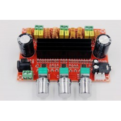 12-24V TPA3116 D2 50Wx2 100W - audio digital subwoofer - power amplifier board