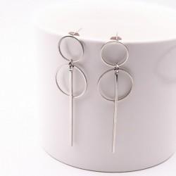 Fashion punk style long earrings