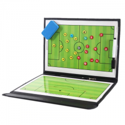 Football soccer tactical board - portable training equipment - game