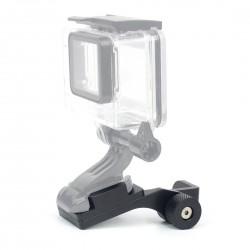 Motorcycle aluminum holder - mount bracket for GoPro Hero 4 5 3 2 Xiaomi Yi SJ4000 SJ5000