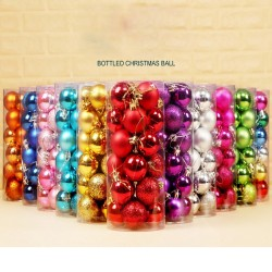 Christmas tree balls 24 pieces