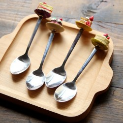 Decorative spoon for tea & coffee & desserts