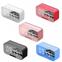 G5 wireless Bluetooth speaker with mirror LED alarm clock - support TF card