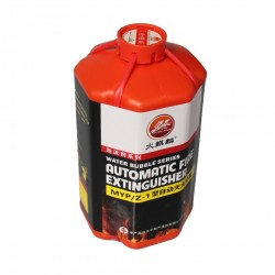 Car fire extinguisher foam - automatic type
