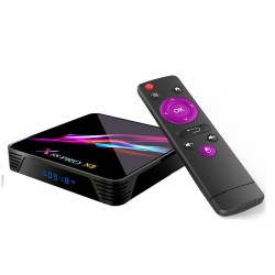 X88 Pro X3 Amlogic S905X3 4GB RAM 128GB ROM 5G WIFI Bluetooth 4.1 8K Android 9 - TV Box