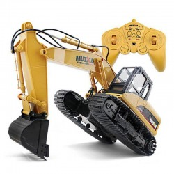 R/C excavator - 15 channels - 2.4G - 1/14 - with battery - RTR toy